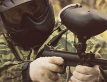 RIB tur med – Paintball