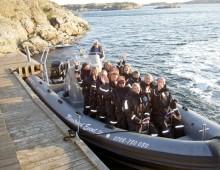 RIB-båtsaktiviteter