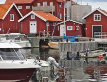 RIB tur från Marstrand & Gbg till Käringön t/r (lunch eller middag)