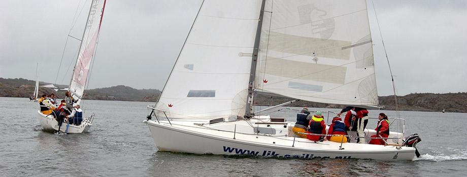 segelbbåtar på havet 2